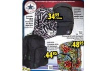 converse ctas backpack b en amp s black white print