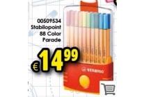stabilopoint 88 stuks color parade