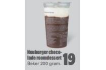 neuburger chocolade roomdessert