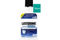listerine advanced white mondwater