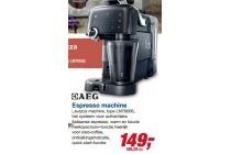 aeg espresso lavazza machine type lm7000s