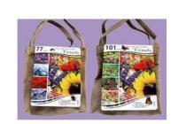 bloembollen in jute tas