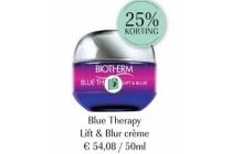 biotherm blue therapy lift en amp blur cr en egrave me