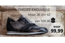 choizz exclusive sneaker