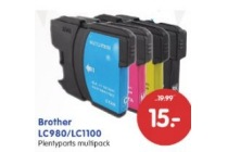 brother lc980 lc1100