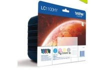 brother cartridge 4 pack lc 1100 kleur en zwart
