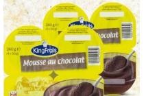 kingfrais chocolademousse