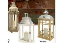 melinera houten lantaarn