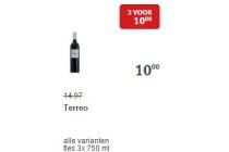 terreo wijn