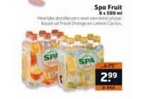spa fruit 6 pack