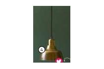 vtwonen hanglamp shine brons