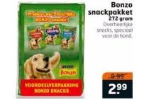 bonzo snackpakket