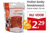 proline boxby hondensnack