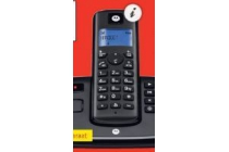 motorola dect telefoon t221