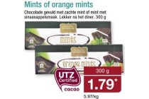 mints of orange mints