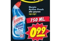 harpic active fresh