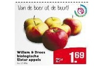 willem en drees biologische elstar appels