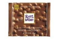 ritter sport chocolade