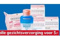 diadermine essential gezichtsverzorging en reiniging