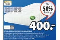royal eastborn 200 springmatras