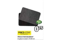 price star deurmat