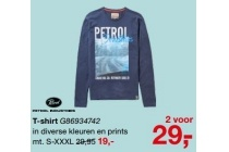 petrol industries t shirt g86934742