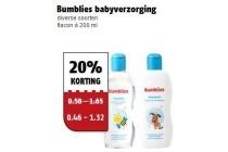 bumblies babyverzorging