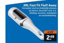 jml fast fit fluff away