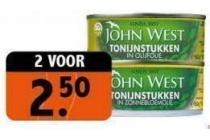 john west tonijstukken