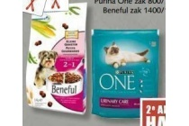 purina one of beneful honden of kattenbrokjes