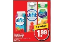 campina vifit goedemorgen of optimel