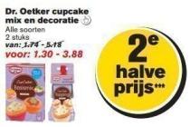 dr oetker cupcake mix en decoratie