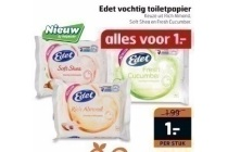 edet vochtig toiletpapier