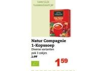 natur compagnie 1 kopsoep