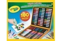 crayola kleurkoffer 100 delig
