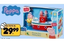 peppa boot en figuren