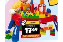 speeltafel met blokken