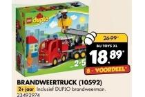 lego duplo brandweertruck