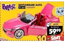 bratz bestuurbare auto