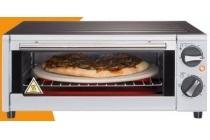 pizzasteenoven met grill
