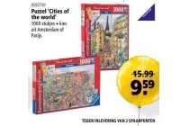 puzzel cities of the world