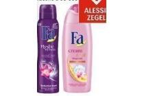 fa douche of deodorant of schwarzkopf shampoo of conditioner