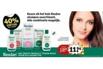 resdan shampoo assortiment