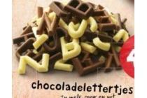 chocoladelettertjes