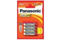 panasonic lr03ppg 4bp pro power aaa 4 pack k batterijen goud