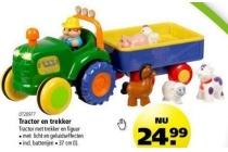 tractor en trekker