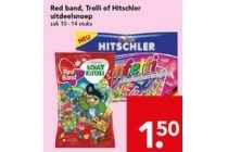 red band trolli of hitschler uitdeelsnoep