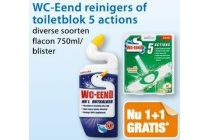 wc eend reinigers of toiletblok 5 actions