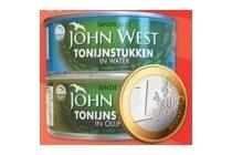 john west tonijn of makreel