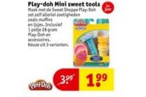 play doh mini sweet tools